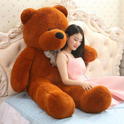 Cute Bear Style Plush Toy  -  100CM  DEEP BROWN