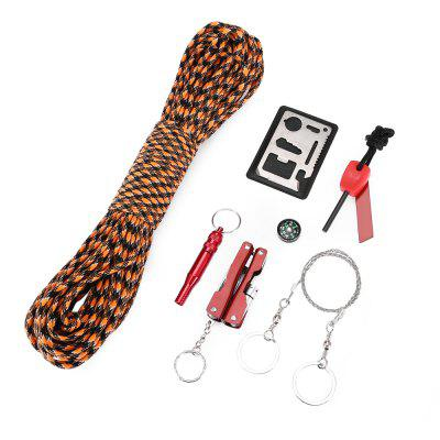 CTSmart 31m 7 Strands Paracord Rope with Survival Tools