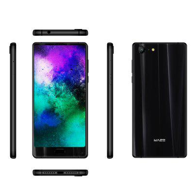 MAZE Alpha X 4G PhabletCell phones<br>MAZE Alpha X 4G Phablet<br><br>2G: GSM 1800MHz,GSM 1900MHz,GSM 850MHz,GSM 900MHz<br>3G: WCDMA B1 2100MHz,WCDMA B8 900MHz<br>4G LTE: FDD B1 2100MHz,FDD B20 800MHz,FDD B3 1800MHz,FDD B7 2600MHz,FDD B8 900MHz<br>Additional Features: Calculator, GPS, Browser, Bluetooth, MP3, MP4, WiFi, Alarm, 4G, 3G, Calendar<br>Auto Focus: Yes<br>Back-camera: 13.0MP<br>Battery Capacity (mAh): 3900mAh<br>Battery Type: Non-removable<br>Bluetooth Version: V4.1<br>Brand: MAZE<br>Camera type: Dual cameras (one front one back)<br>Cell Phone: 1<br>Cores: 2.5GHz, Octa Core<br>CPU: MTK6757<br>E-book format: TXT<br>English Manual: 1<br>External Memory: TF card up to 256GB<br>Front camera: 8.0MP<br>Games: Android APK<br>Google Play Store: Yes<br>GPU: Mali T880<br>I/O Interface: Type-C, TF/Micro SD Card Slot, Speaker, Micophone, 2 x Nano SIM Slot<br>Language: Multi language<br>Music format: WAV, MP3, APE, 3GP, AAC, AMR<br>Network type: FDD-LTE,GSM,WCDMA<br>OS: Android 7.0<br>OTG: Yes<br>Package size: 18.00 x 12.00 x 6.00 cm / 7.09 x 4.72 x 2.36 inches<br>Package weight: 0.5150 kg<br>Picture format: JPEG, GIF, BMP, PNG, JPG<br>Power Adapter: 1<br>Product size: 15.64 x 7.46 x 0.81 cm / 6.16 x 2.94 x 0.32 inches<br>Product weight: 0.2090 kg<br>RAM: 6GB<br>ROM: 64GB<br>Screen resolution: 2160 x 1080<br>Screen size: 6.0 inch<br>Screen type: Capacitive<br>Sensor: Ambient Light Sensor,E-Compass,Gravity Sensor,Gyroscope,Hall Sensor,Proximity Sensor<br>Service Provider: Unlocked<br>SIM Card Slot: Dual SIM, Dual Standby<br>SIM Card Type: Nano SIM Card<br>SIM Needle: 1<br>Tempered Glass Screen Protector: 1<br>Type: 4G Phablet<br>USB Cable: 1<br>Video format: MKV, WMV, 3GP, ASF, AVI, FLV, RM, MOV, RMVB<br>Video recording: Yes<br>WIFI: 802.11a/b/g/n/ac wireless internet<br>Wireless Connectivity: 4G, Bluetooth, 3G, WiFi, GSM, GPS