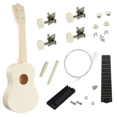 21 inch S Type Ukulele DIY Assemble Accessories Kit for Kids