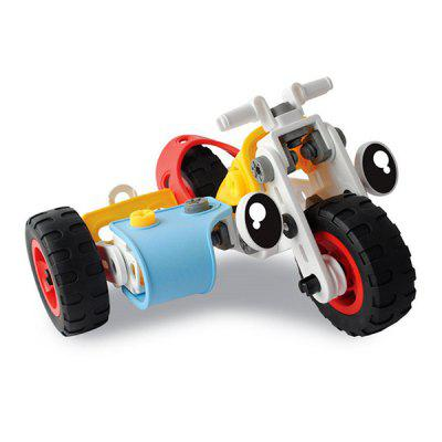 3 in 1 Creative Motorcycle Model Toy
