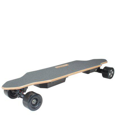 2 x 350W Motors 9cm 4-wheel Electric Skateboard Slide