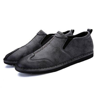 Casual Microfiber Thermal Loafer Shoes