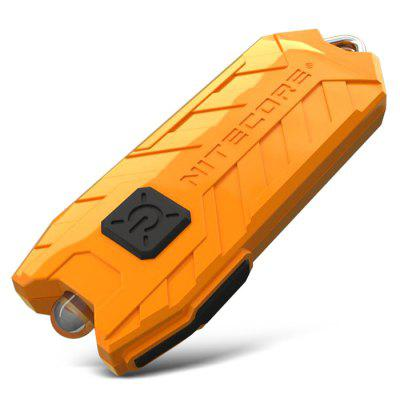Nitecore TUBE USB Mini Flashlight Keychain 2 Modes 45LM