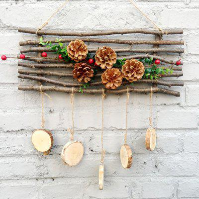 Creative Wall Decor Rural Wooden DIY Christmas Ornament