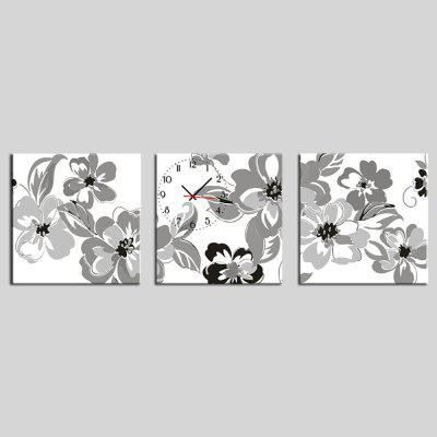 E - HOME 201403 Pattern Clock Decoration Painting