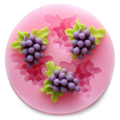 50 - 06 Grape Pattern DIY Cake Chocolate Silicone Mold