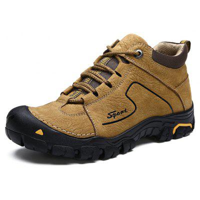 Casual Outdoor Matte-leather Hiking Shoes