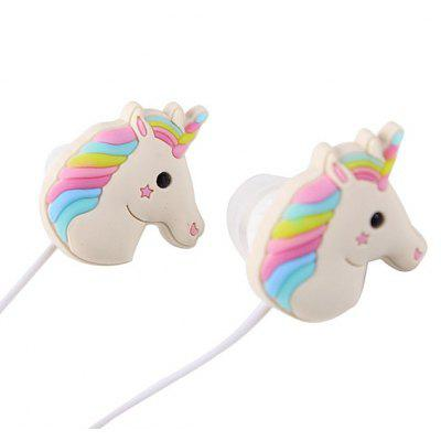 Unicorn Cartoon In-ear Stereo Earphones with MicEarbud Headphones<br>Unicorn Cartoon In-ear Stereo Earphones with Mic<br><br>Cable Length (m): 1.2m<br>Compatible with: PC, Computer, Mobile phone<br>Connectivity: Wired<br>Frequency response: 20Hz - 20KHz<br>Function: Answering Phone, Microphone<br>Impedance: 32ohms±15 percent<br>Material: ABS, Plastic<br>Package Contents: 1 x Earphones<br>Package size (L x W x H): 16.00 x 6.00 x 4.50 cm / 6.3 x 2.36 x 1.77 inches<br>Package weight: 0.0340 kg<br>Plug Type: Full-sized, 3.5mm<br>Product weight: 0.0150 kg<br>Sensitivity: 95 ± 3 dB<br>Type: In-Ear<br>Wearing type: In-Ear