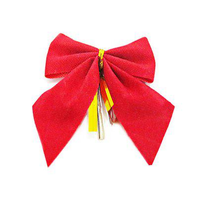 Bowknot Ornament Christmas Decoration 12PCS