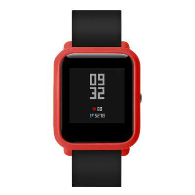 TAMISTER Watch Cover for Xiaomi Huami AMAZFIT Youth Ed.Smart Watch Accessories<br>TAMISTER Watch Cover for Xiaomi Huami AMAZFIT Youth Ed.<br><br>Brand: TAMISTER<br>Compatible with: Huami Amazfit<br>Package Contents: 1 x Watch Shell Case<br>Package size: 8.00 x 5.80 x 1.10 cm / 3.15 x 2.28 x 0.43 inches<br>Package weight: 0.0050 kg<br>Product size: 4.20 x 3.60 x 0.80 cm / 1.65 x 1.42 x 0.31 inches<br>Product weight: 0.0001 kg<br>Type: Watch Shell Case
