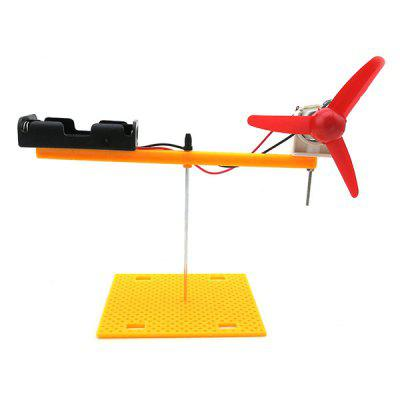 Puzzle Toy DIY Rotary Wing Model for Children