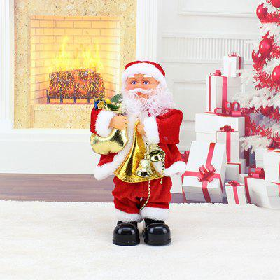 Christmas Holiday Gift Electric Twisted Santa Claus