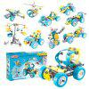 10 in 1 Creative Truck Robot Plane Model Tool Set - COLORMIX