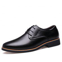 MUHUISEN Male British Business Casual Dress Shoes