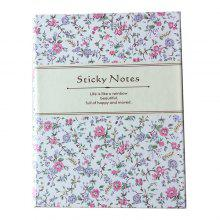 QCY 101936 Cute Notebook with Sticky Notes for Students