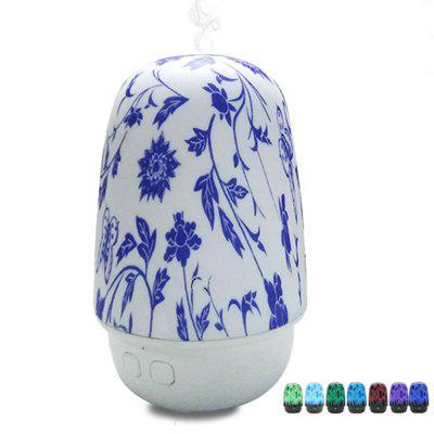 Home Appliance Smart Voice Control Diffusore Aromatico in Porcellana Blu e Bianca