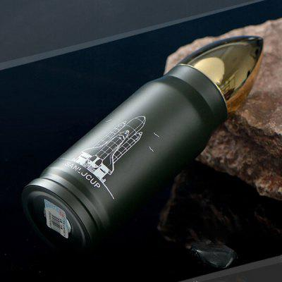 Cool Stainless Steel Vacuum Cup Bullet Shape Thermos Flasks