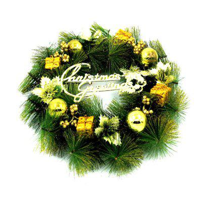 976 35cm Christmas Wreath Decorating Gift