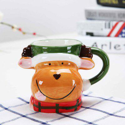 Cute Cartoon Image 3D Effect Cup