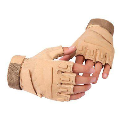 CTSmart 023 Pair of Half-finger Windproof Anti-slip Gloves