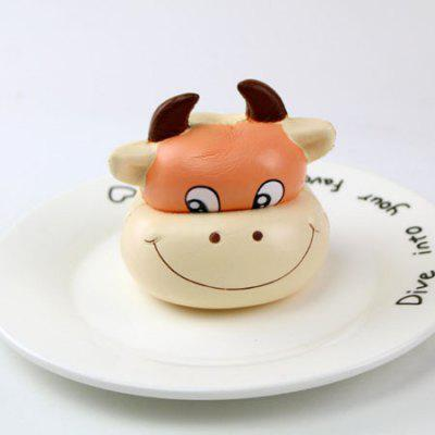 Lovely Cow Head Style Slow Rising Squishy Toy