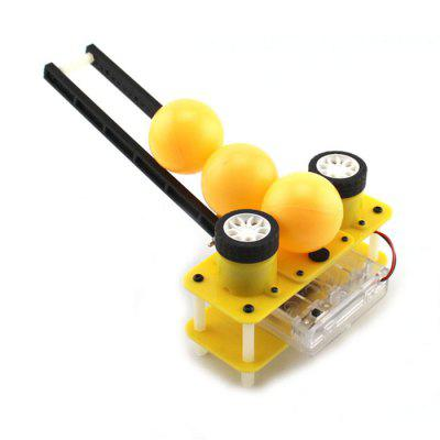 DIY Two-wheel Ball Machine Science Intelligence Toy