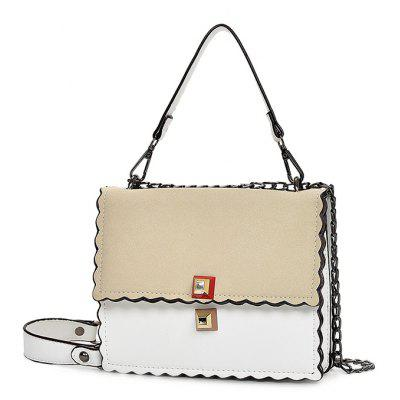 Ladies Stylish PU Tote Shoulder Bag with Chain Strap