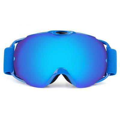 OBAOLAY Anti-fog Windproof Protective Skiing Glasses