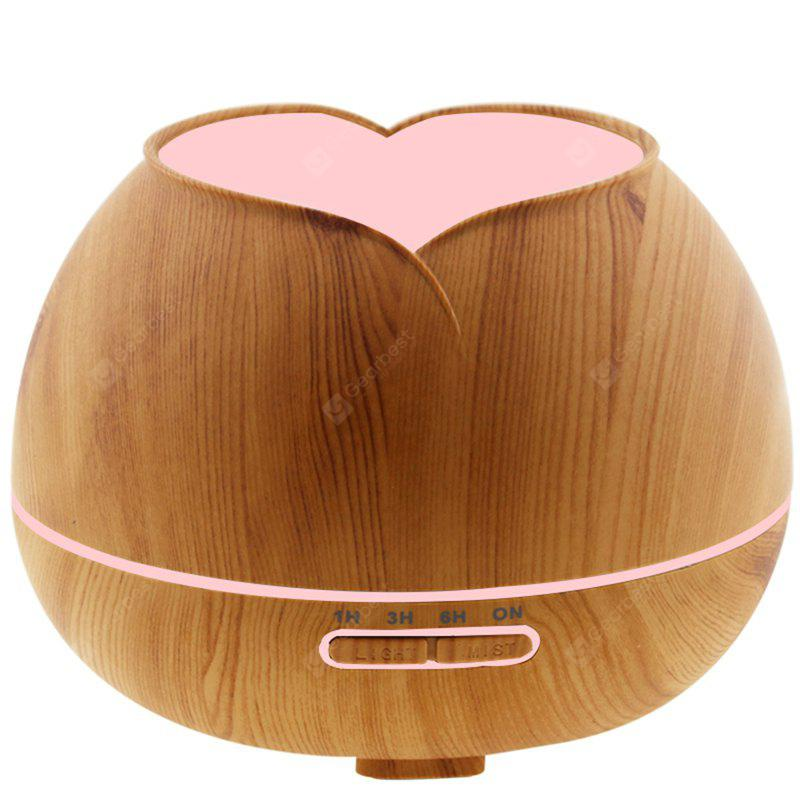 Creative LED Nightlight Wood Grain Design Room Ultrasonic Diffuser Aroma Humidifier