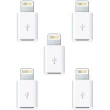 5pcs 8 Pin to Micro USB Socket Converter Adapter