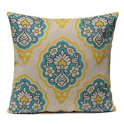 LAIMA Soft Pillowcase Bohemia Style Square Pillow Cover