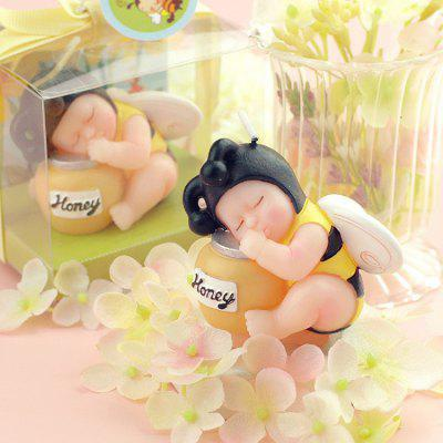 893 Creative Smokeless Lovely Baby Candle
