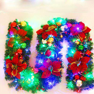 MCYH 649 2.7m Christmas Decoration Rattan with Lights