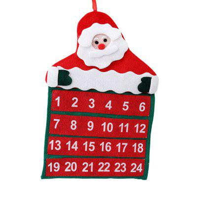 Christmas Cute Santa Claus Calendary
