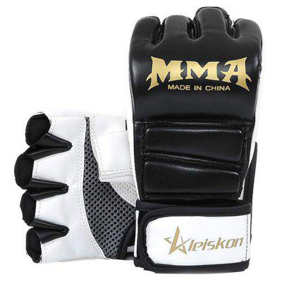 Pair of Half Finger Boxing GlovesBoxing<br>Pair of Half Finger Boxing Gloves<br><br>Package Content: 1 x Pair of Gloves<br>Package size: 23.00 x 12.00 x 2.00 cm / 9.06 x 4.72 x 0.79 inches<br>Package weight: 0.2400 kg<br>Product weight: 0.2200 kg<br>Type: Boxing Gloves