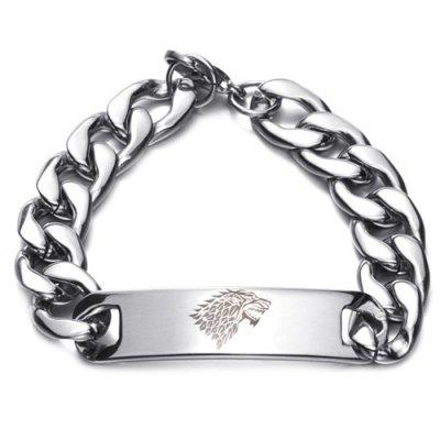 Trendy Stainless Steel Men Bracelet