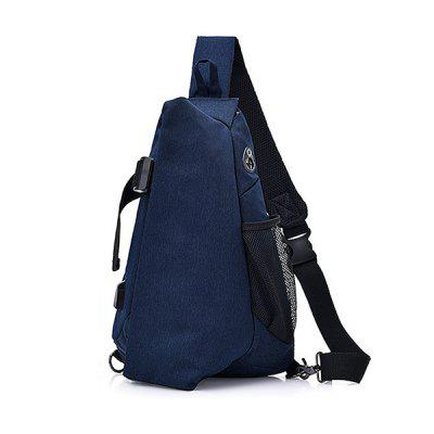 HYK0013 USB Charging Anti-slip Sling Bag