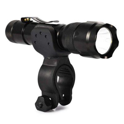 Waterproof Handlebar Bicycle Front Light with Frame