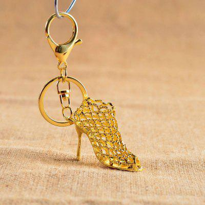 High-heel Alloy Key Chain Hanging Pendant