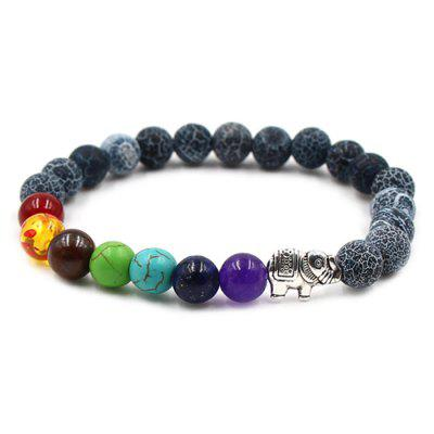8mm Beads Natural Stone Women Yoga Bracelet