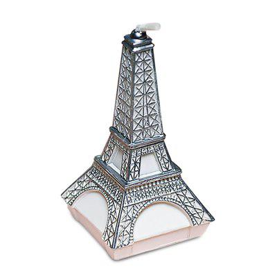 Smokeless Decoration Candle with Creative Eiffel Tower Shape