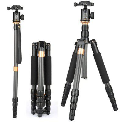 QZSD Q990C Portable Camera Tripod with 360 Degree Head