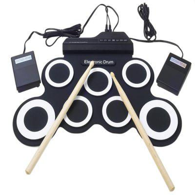 iWord Portable Hand-rolled Electronic Drum