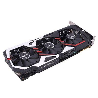 Original Colorful iGame 1070 Ti U - TOP Graphics CardGraphics &amp; Video Cards<br>Original Colorful iGame 1070 Ti U - TOP Graphics Card<br><br>Brand: Colorful<br>Chipset Manufacturer: NVIDIA<br>CUDA Cores: 2432<br>Engine Clock: 1607MHz<br>Graphics Chipset: GeForce GTX1070 Ti<br>I/O Interface: 1 x DVI, 2 x DP, 2 x HDMI<br>Interface Type: PCI-E 3.0<br>Maximum Resolution: 7680 x 4320<br>Memory Bus Width: 256Bit<br>Model: GeForce GTX 1070<br>Package size: 31.00 x 16.00 x 6.00 cm / 12.2 x 6.3 x 2.36 inches<br>Package weight: 1.5670 kg<br>Packing List: 1 x Original Colorful Top Graphics Card, 1 x English Manual, 2 x Power Cable<br>PCI Express Type: X16<br>Power Interface: 4PIN<br>Process Technology: 16nm<br>Product size: 28.00 x 12.00 x 4.30 cm / 11.02 x 4.72 x 1.69 inches<br>Product weight: 1.3000 kg<br>Radiator Type: Three Fans<br>Supports System: Windows 7, Ubuntu 16.04 64bit, Windows 10<br>Video Memory Capacity: 8GB<br>Video Memory Frequency: 8008MHz<br>Video Memory Type: GDDR5