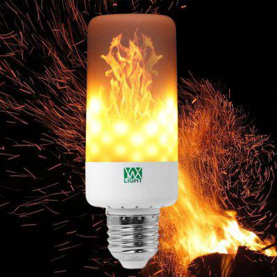 YWXLight E27 LED Flame Effect Light Bulb AC 85 - 265V e27 6w 6 led 540 lumen 6000k white light bulb 85 265v ac