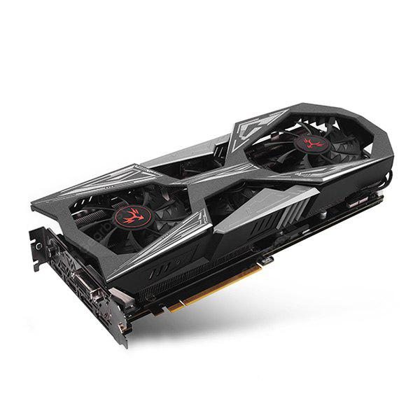Original Colorful iGame GTX 1070 You Vulcan X Top Graphics Card - SILVER GRAY
