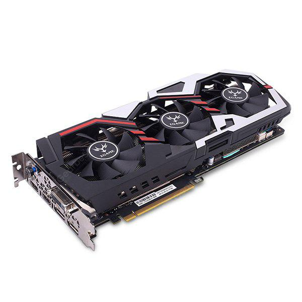 Original Colorful iGame 1070 Ti U - TOP Graphics Card - BLACK