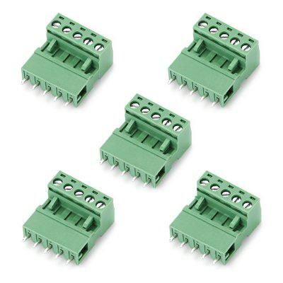 Male to Female Screw Terminal Blocks Connector 5PCS