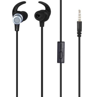 EV123 In-ear Sports Earphone with Remote and Mic